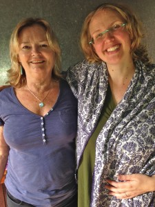 Maureen Price and Leonie Dawson