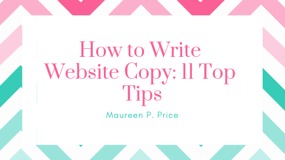 how to write website copy: 11 top tips