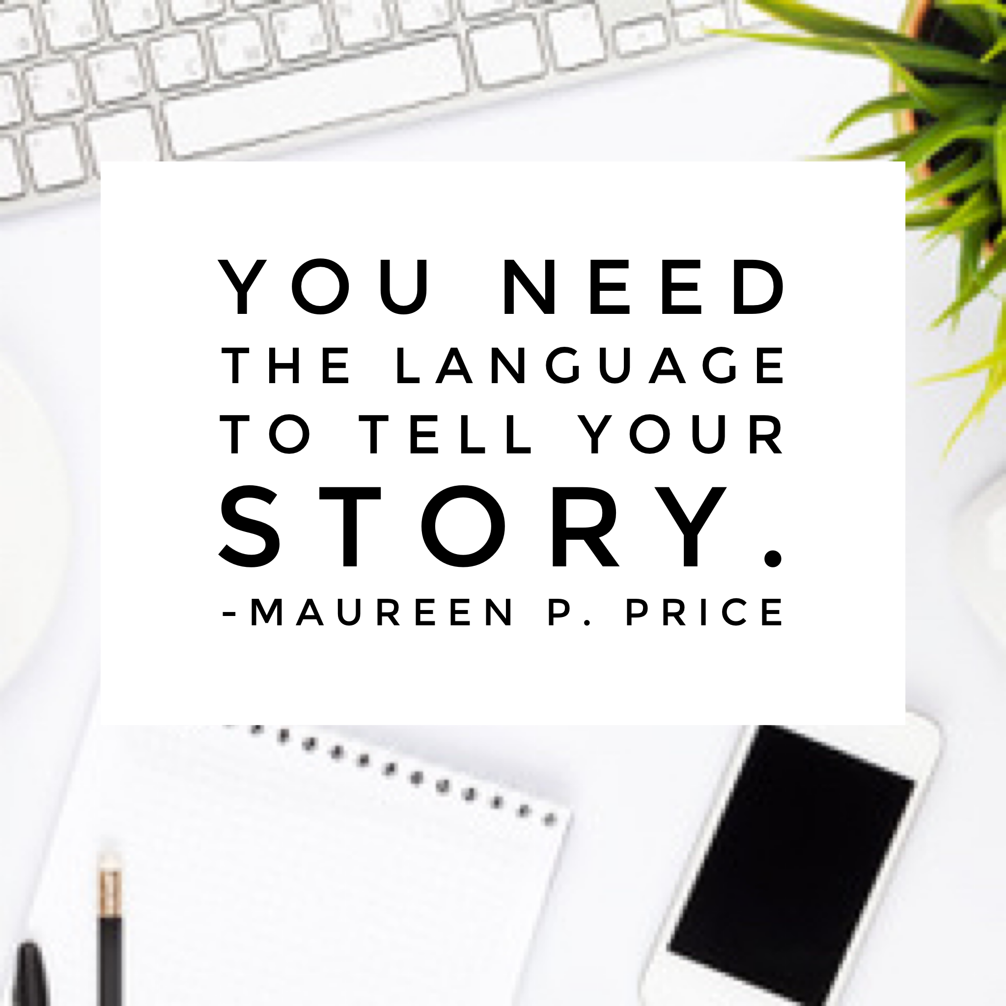 master storyteller Maureen P. Price
