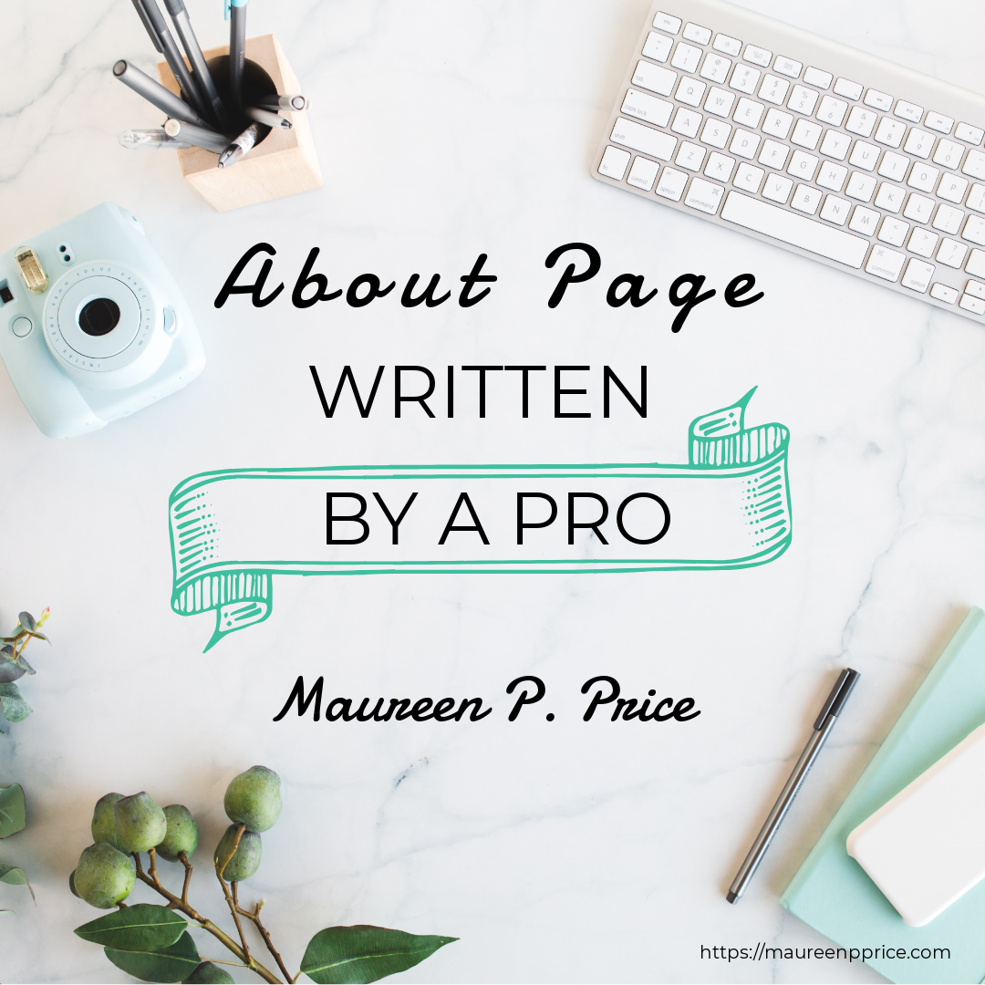 about page written by a pro